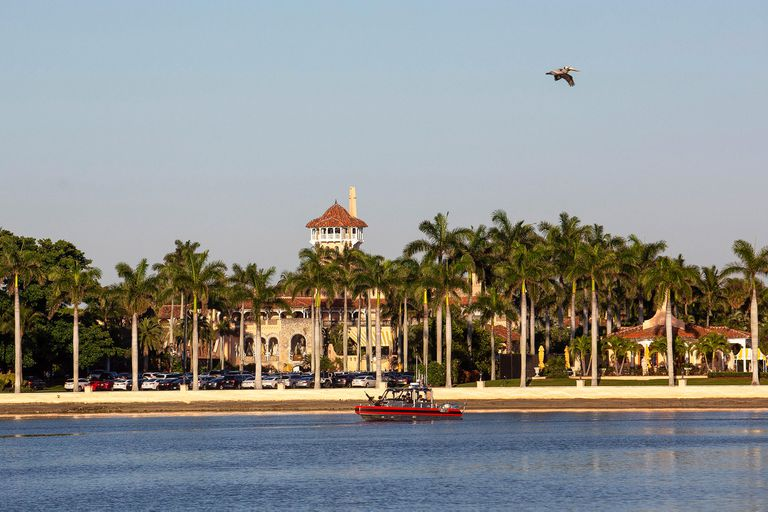 La finca Mar-a-Lago en West Palm Beach, Florida