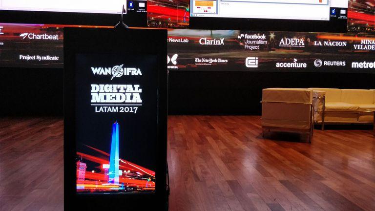 Es la segunda vez que el encuentro de la Asociación Mundial de Diarios y Editores de Noticias se hace en Buenos Aires
