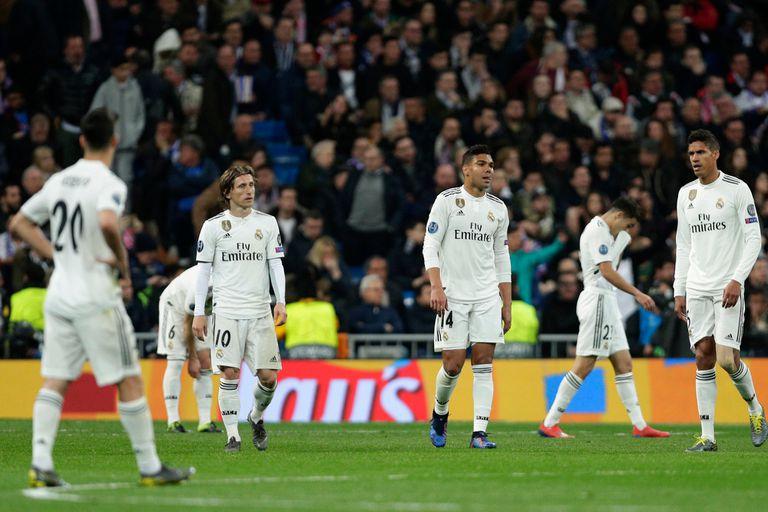 El fin de una era fue con un mazazo que Real Madrid jamás imaginó