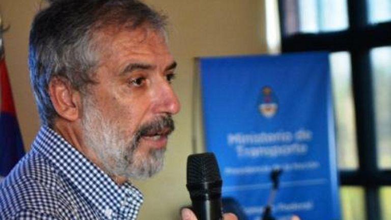 El director de Transporte Fluvial y Marítimo, Gustavo Deleersnyder