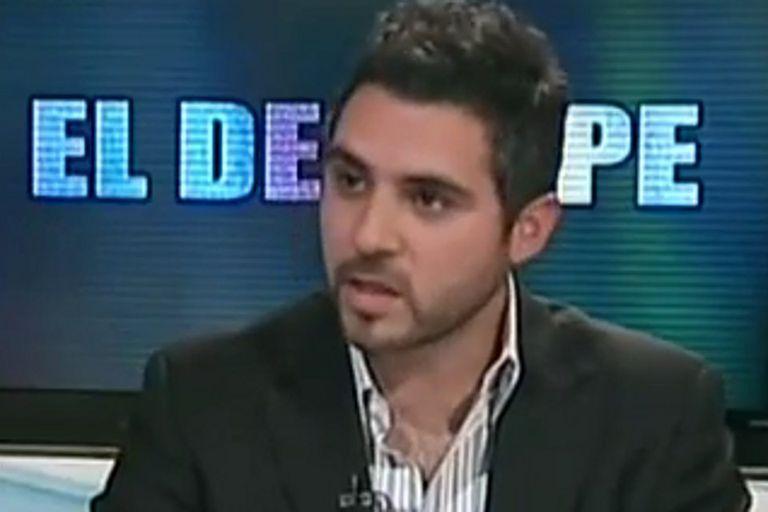 Cristian Girard, en una entrevista en el 2011, cuando se desempeñaba en Cenda