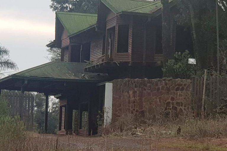 El ahora abandonado complejo turístico que la banda narco había instalado en la localidad misionera de Montecarlo para lavar el dinero originado en el tráfico de drogas