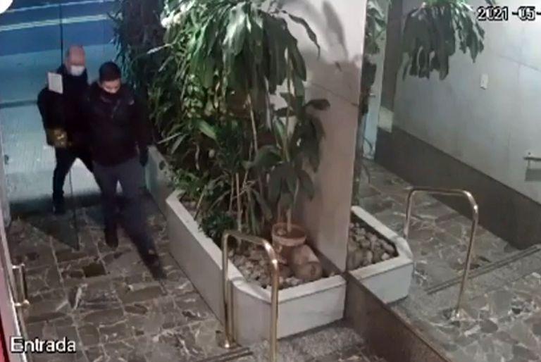 Los delincuentes tenían las llaves del edificio ubicado en Av. Pueyrredón en el barrio Recoleta