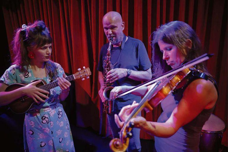 Damsel Talk, Beek y Lüssi, distintos instrumentos, distintas nacionalidades, pero una misma pasión: la música y Buenos Aires