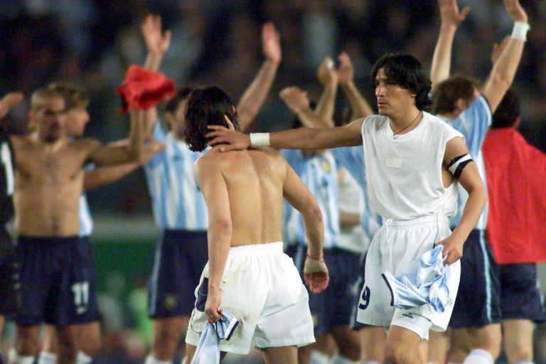 """El 9 de la selección argentina estará cubierto muchos años con Lautaro e Icardi"""", avisa Zamorano, que se cruzó seis veces con la selección albiceleste"""