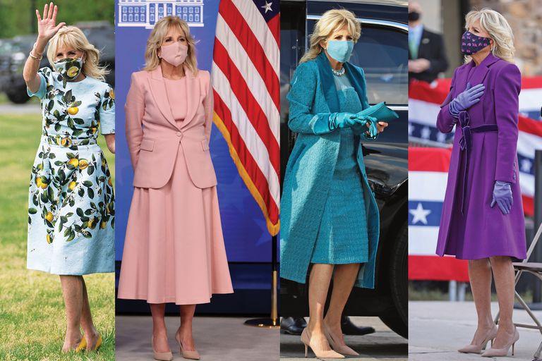 Jill Biden. Su particular estilo, tras cien días en la Casa Blanca