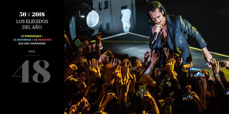 Con su música, Nick Cave pone a raya al dolor