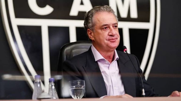 Sergio Coelho, Presidente de Atlético Mineiro.