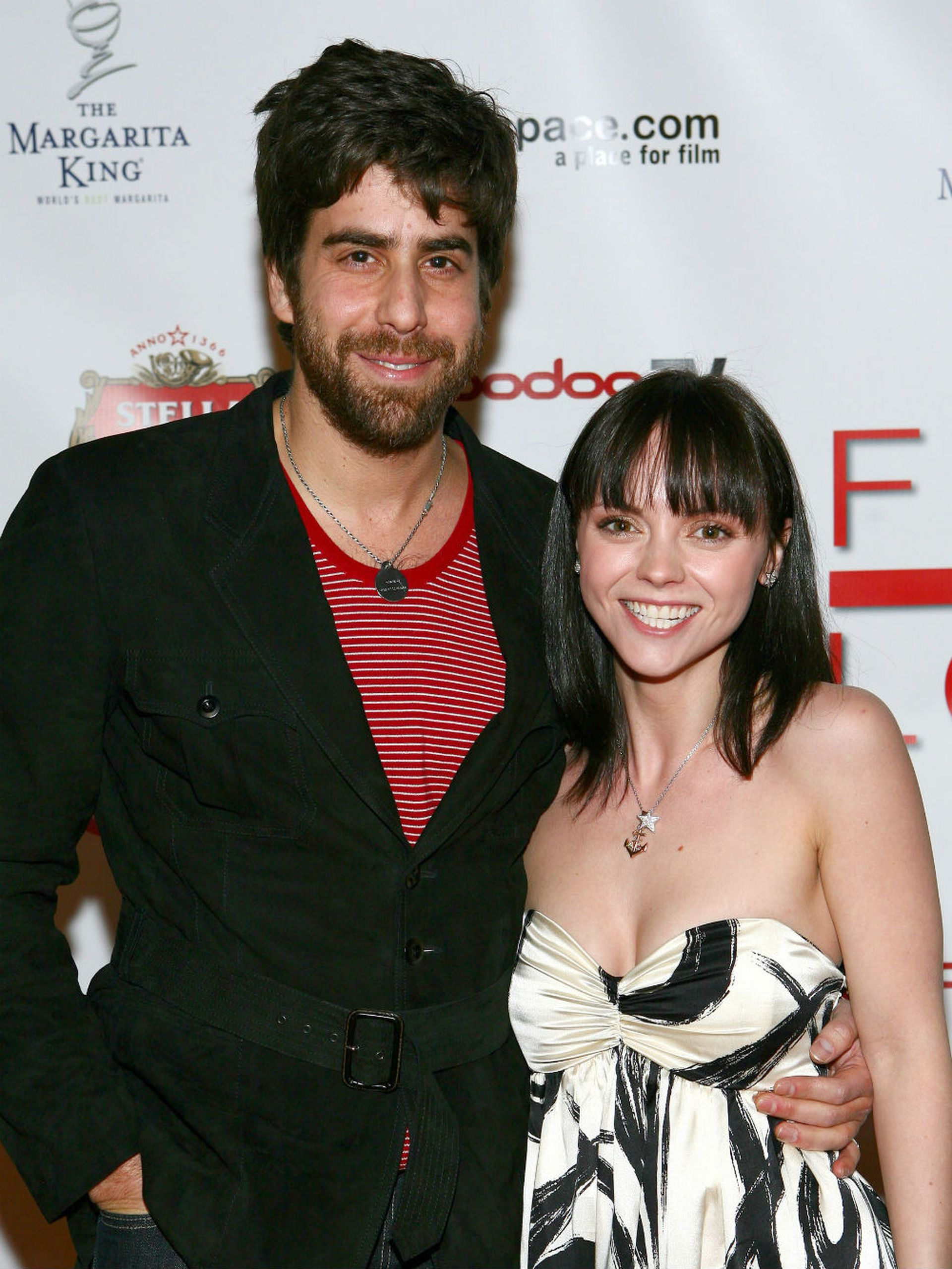Ricci y el actor y director Adam Goldberg se conocieron en 2003