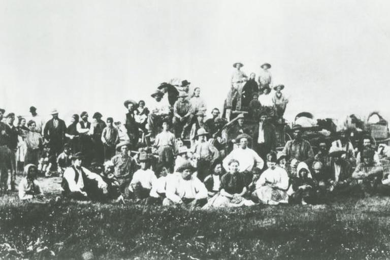 Al igual que muchas familias de colonos, los Oatman decidieron cruzar el desierto para adquirir una mejor calidad de vida (Foto ilustrativa)