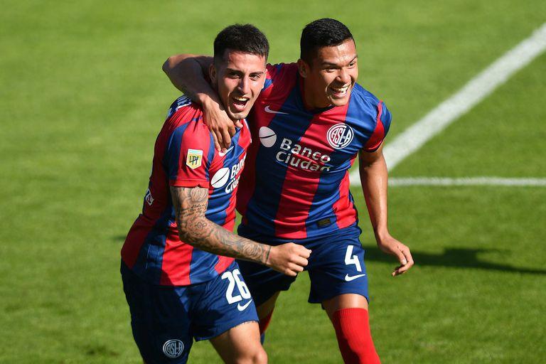 El festejo de Fernández Mercau y Herrera; San Lorenzo sufrió, pero derrotó a Defensa y Justicia en el Nuevo Gasómetro