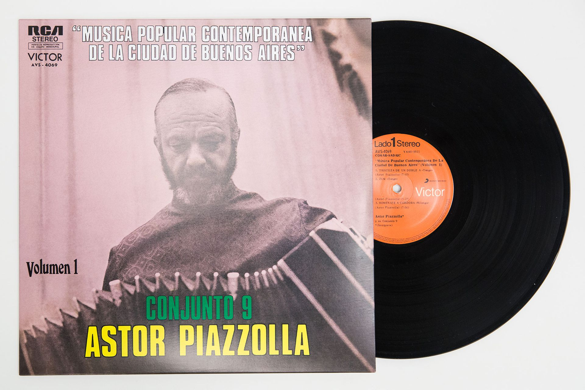 Astor Piazzolla Conjunto 9 - Música Popular Contemporánea de la Ciudad de Buenos Aires Vol. 1