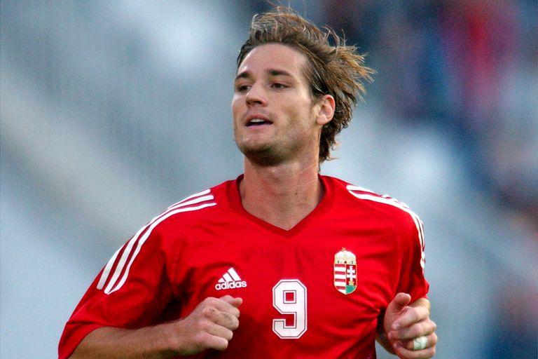 Miklos Feher, con la camiseta de Hungría; falleció jugando por Benfica, a la hora de sufrir un síncope.