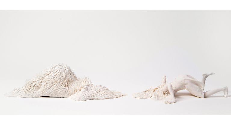 Claudia Fontes. The Beginning of Landscape, presentada en la edición anterior de Arco. Para la próxima Biennale prepara un caballo de 5 metros de altura, que promete cortar la respiración de los visitantes.