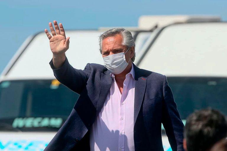 """El presidente dijo que los productores """"no pueden trasladar a los argentinos los precios internacionales"""", si bien reconoció que necesita que exporten para que ingresen dólares"""