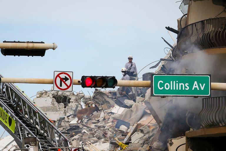 Hasta el momento, 37 personas fueron retiradas de los escombros