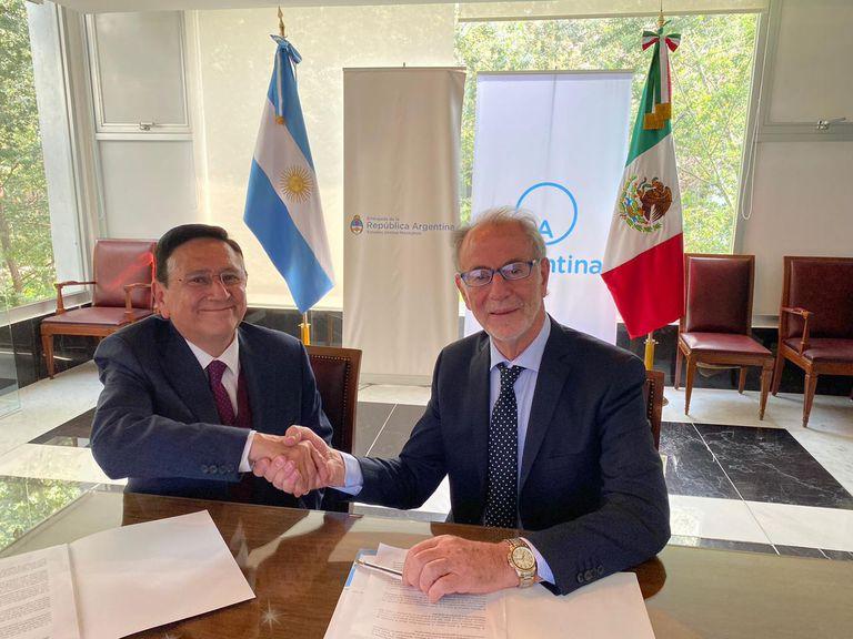 La Argentina cerró un nuevo acuerdo comercial con México