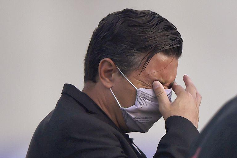 En casi siete años en River, Marcelo Gallardo nunca afrontó una imagen tan traumática como ahora para armar el equipo