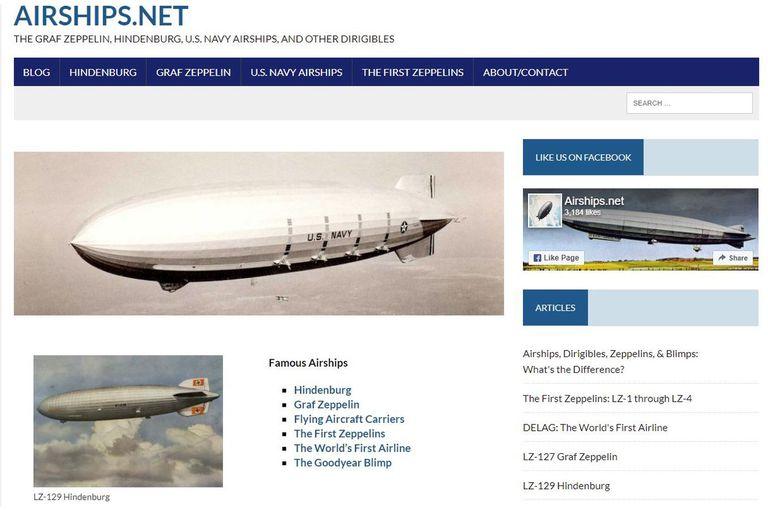 Del Hindenburg al presente