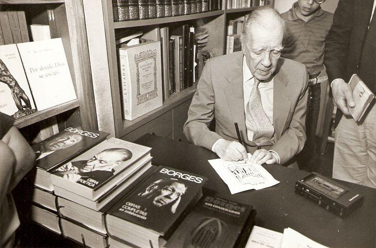 La última tarde de Borges en Buenos Aires
