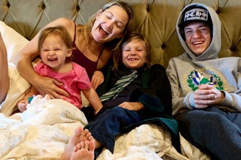 Kate Hudson reveló qué es lo que no tolera que hagan sus hijos