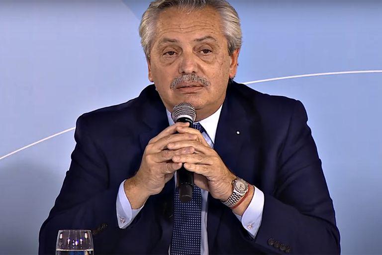 """Alberto Fernández: """"Lo que más busco resolver es el tema de la deuda"""""""