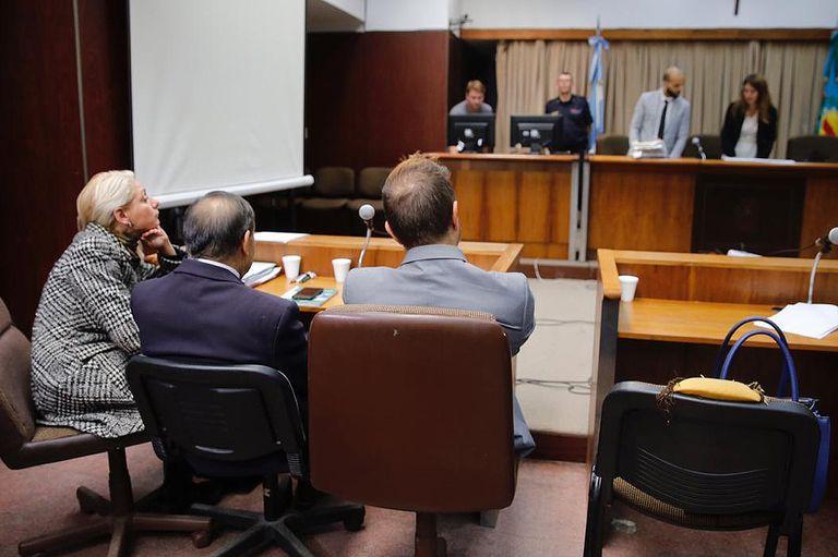La sala de audiencias en la última jornada del juicio