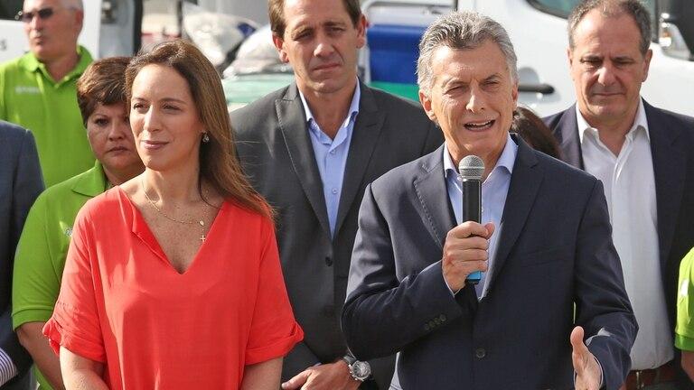 """Macri volvió a elogiar a Vidal: """"En la provincia de los machotes bravos, tuvo que venir una mujer para cambiar la historia"""""""