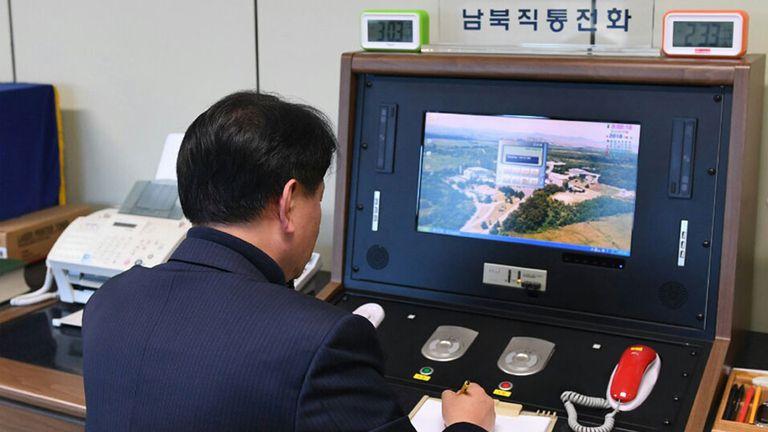 Volvió la comunicación entre las dos Coreas