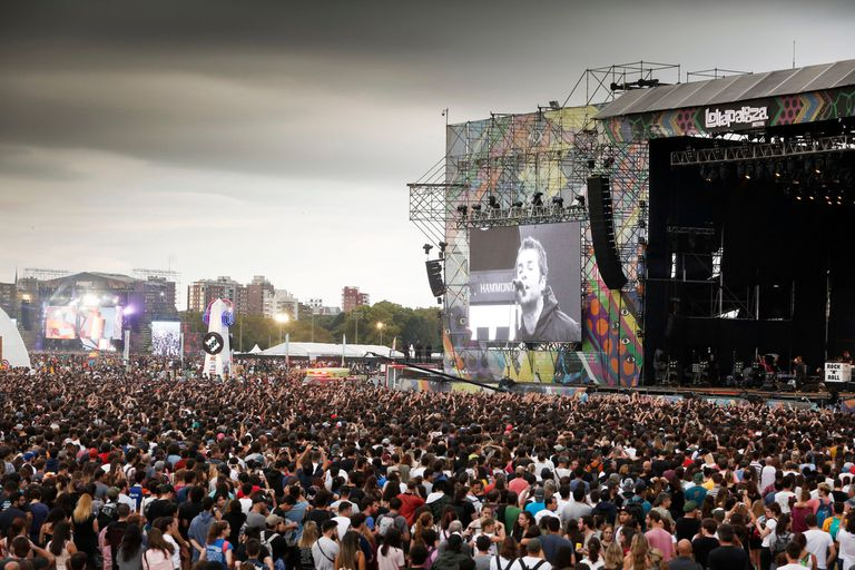 Liam Gallagher tocó en el escenario principal: cantó los clásicos de Oasis y los temas de su primer álbum solista