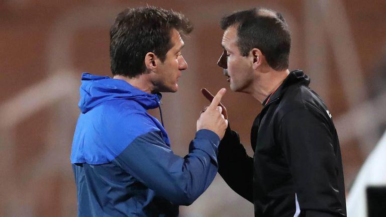 La discusión de Guillermo con el cuarto árbitro