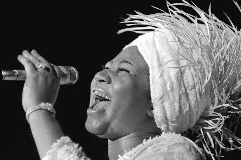 Murió Aretha Franklin: la vida de la reina del soul, en fotos