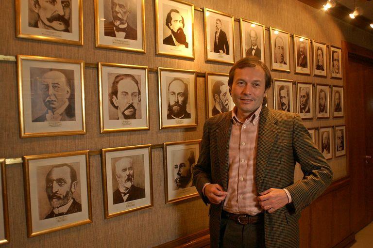 Buenos Aires 28 de junio de 2003. Entrevista con Gustavo Beliz, Ministro de Justicia de la Nacion.