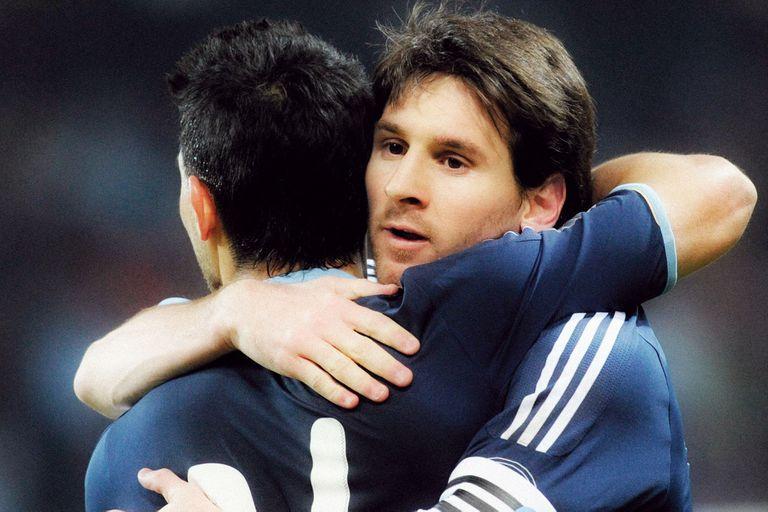 Messi y Agüero, dos grandes amigos hace tiempo