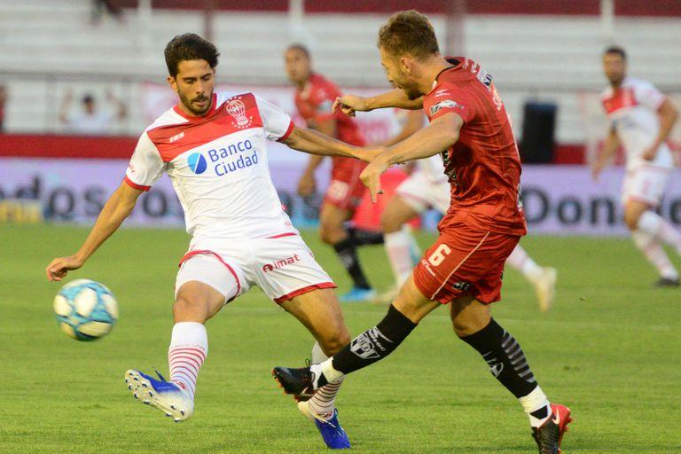 Huracán y Central Córdoba empataron 1-1 en Parque Patricios