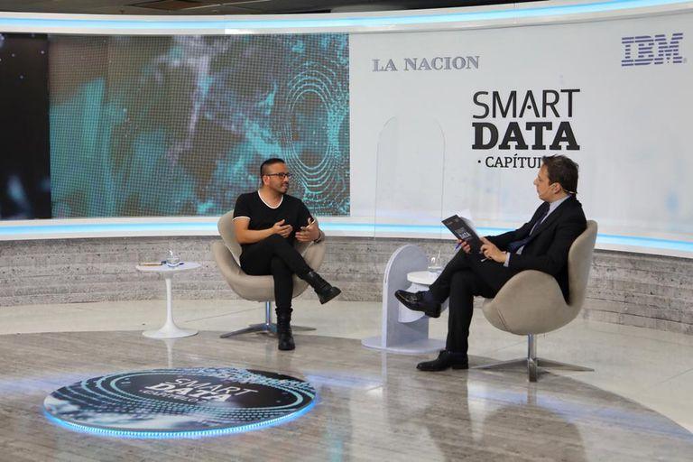 Fredi Vivas, fundador de Rockingdata, dialogó con José Del Rio (LA NACION)