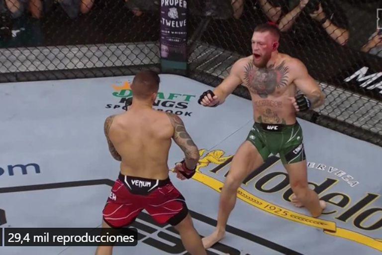Escalofriante lesión de Conor McGregor: se fracturó la tibia y será operado en las próximas horas