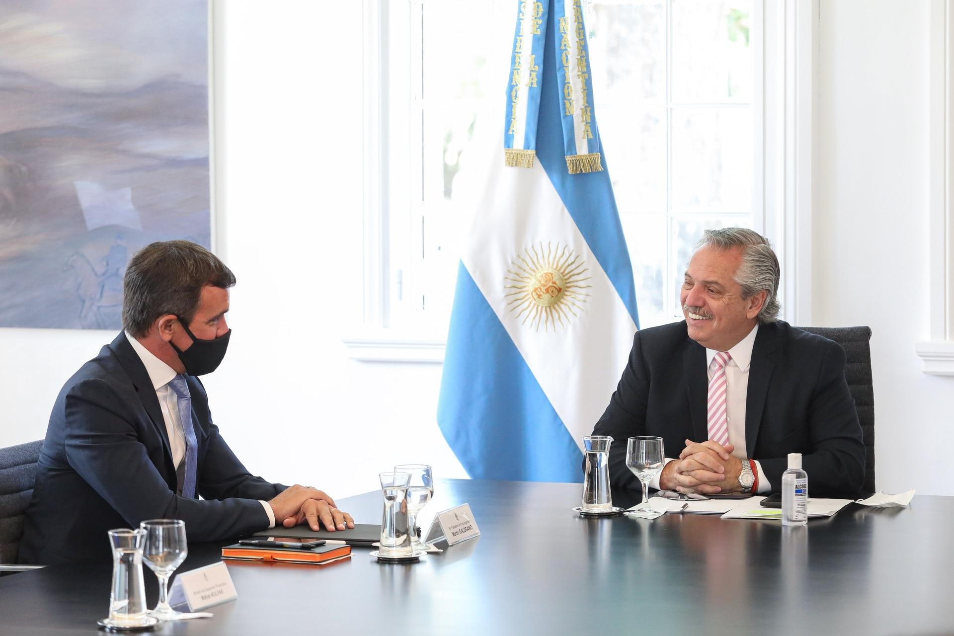 El presidente de Ford, Martín Galdeano, le anunció a Alberto Fernández la inversión por US$580 millones que está haciendo la automotriz en la Argentina