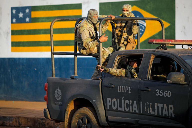 Barbosa está acusado de matar a cuatro personas de la misma familia en Ceilandia y tiene un extenso historial criminal
