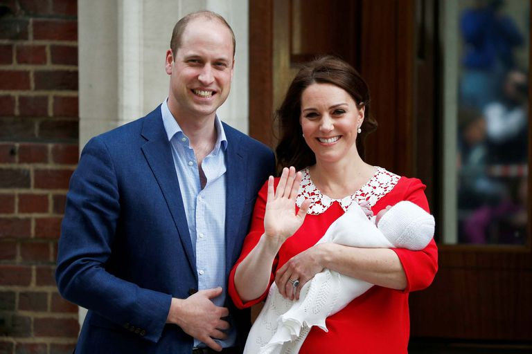 Este año, Kate tuvo a su tercer hijo, el príncipe Louis