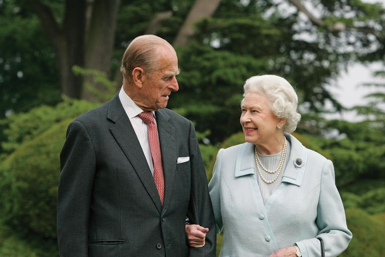 La monarca se despidió de su compañero con unas cariñosas palabras