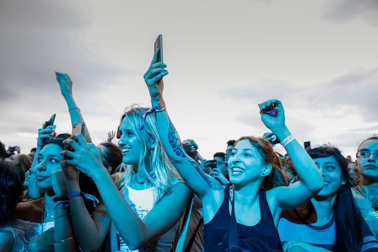 La tormenta no llegó y el público pudo disfrutar de la segunda jornada de Lollapalooza