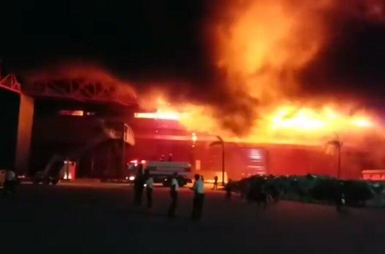 Las autoridades del autódromo todavía no pueden calcular todo lo que se perdió en el incendio.