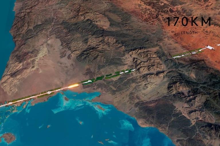 The Line: Arabia Saudita construirá una ciudad lineal sin automóviles ni calles
