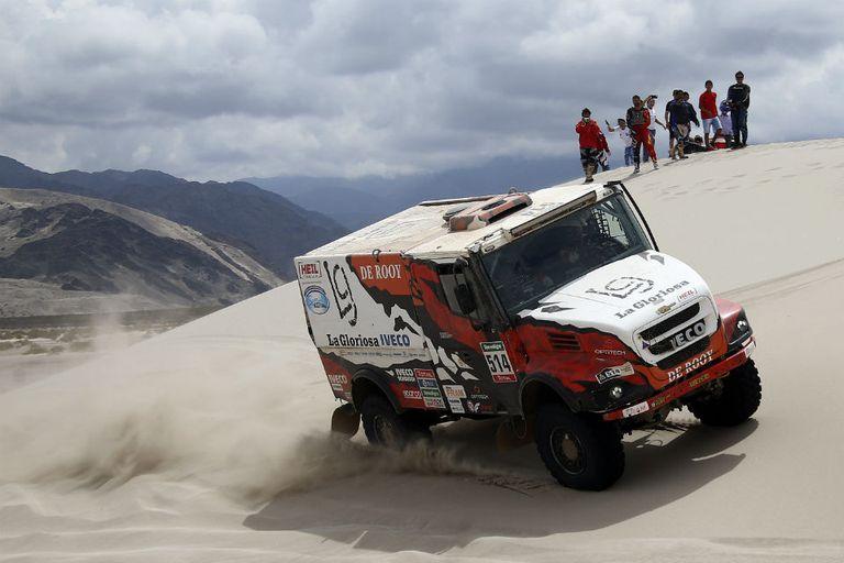 Federico Villagra terminó tercero en el Dakar; es la primera vez que un argentino llega al podio entre los camiones