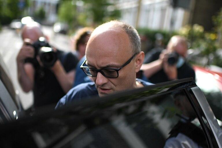 Dominic Cummings, el asesor principal de Boris Johnson