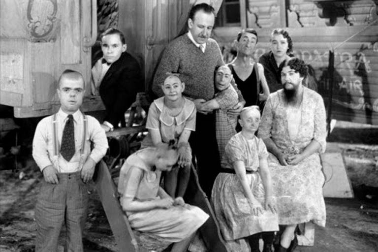 """Freaks, la película protagonizada por """"fenómenos"""" que generó revuelo y censura"""