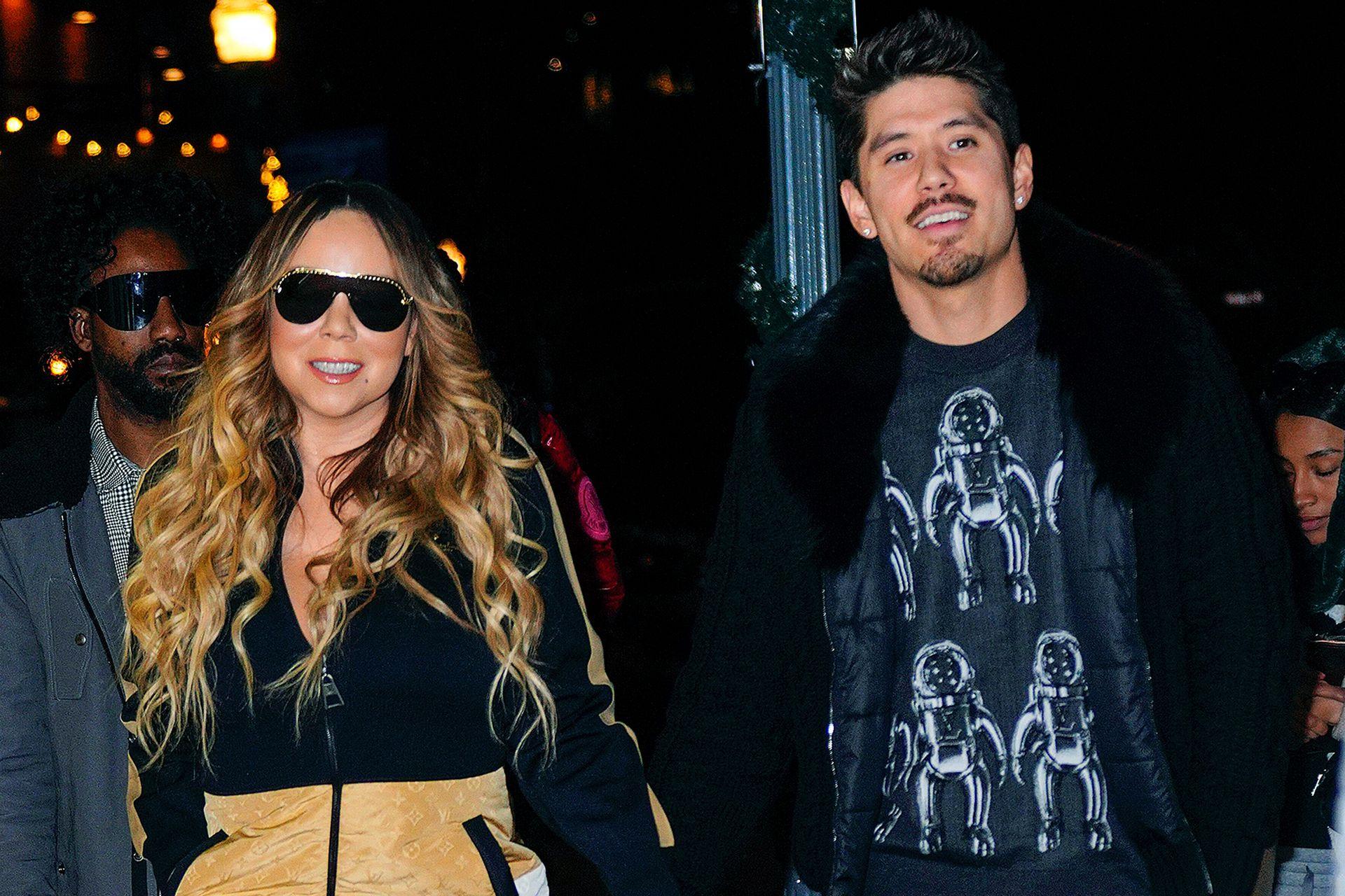 Un amor bajo perfil: Mariah Carey, de 50 años, junto al bailarín y coreógrafo Bryan Tanaka, de 36 años