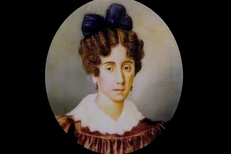 Mariquita Sánchez de Thompson aprovechó los avisos para operaciones inmobiliarias. Su marido se había vuelto loco mientras cumplía funciones diplomáticas en los Estados Unidos.