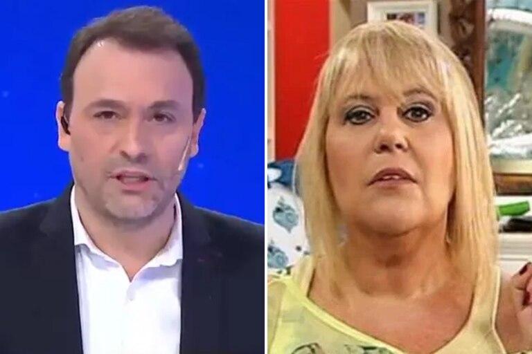 """Adrián Pallares cruzó a Laura Ubfal por sus comentarios sobre las internas de Intrusos; """"Preocupate por el rating de tu programa"""", dijo el periodista"""